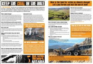 CAN Aotearoa 2011 Leaflet - Screenprint