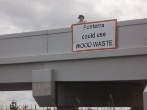 Fonterra could use wood waste