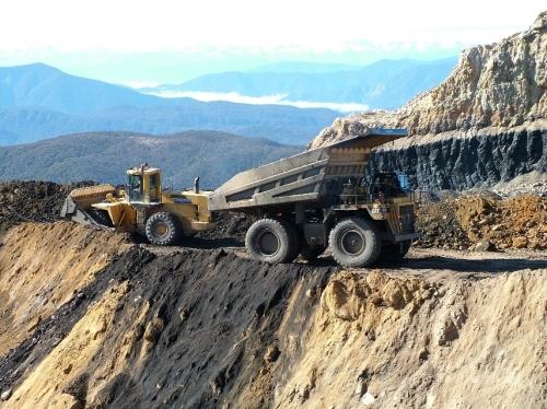 Stockton Mine on the West Coast, Photo: Peter Lusk