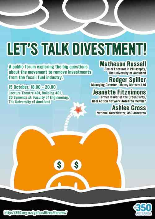 Let's Talk Divestment! Auckland Forum