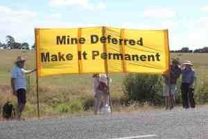 Auckland Coal Action protest at Fonterra's proposed Mangatangi mine.