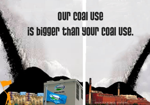 Our coal use is bigger