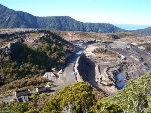 Work on the Denniston Plateau has now stopped.